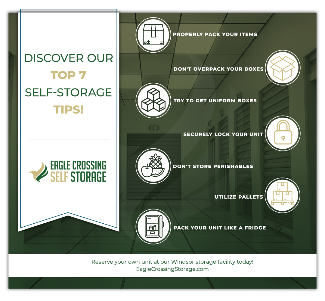 Discover Our Top 7 Self-Storage Tips Infographic