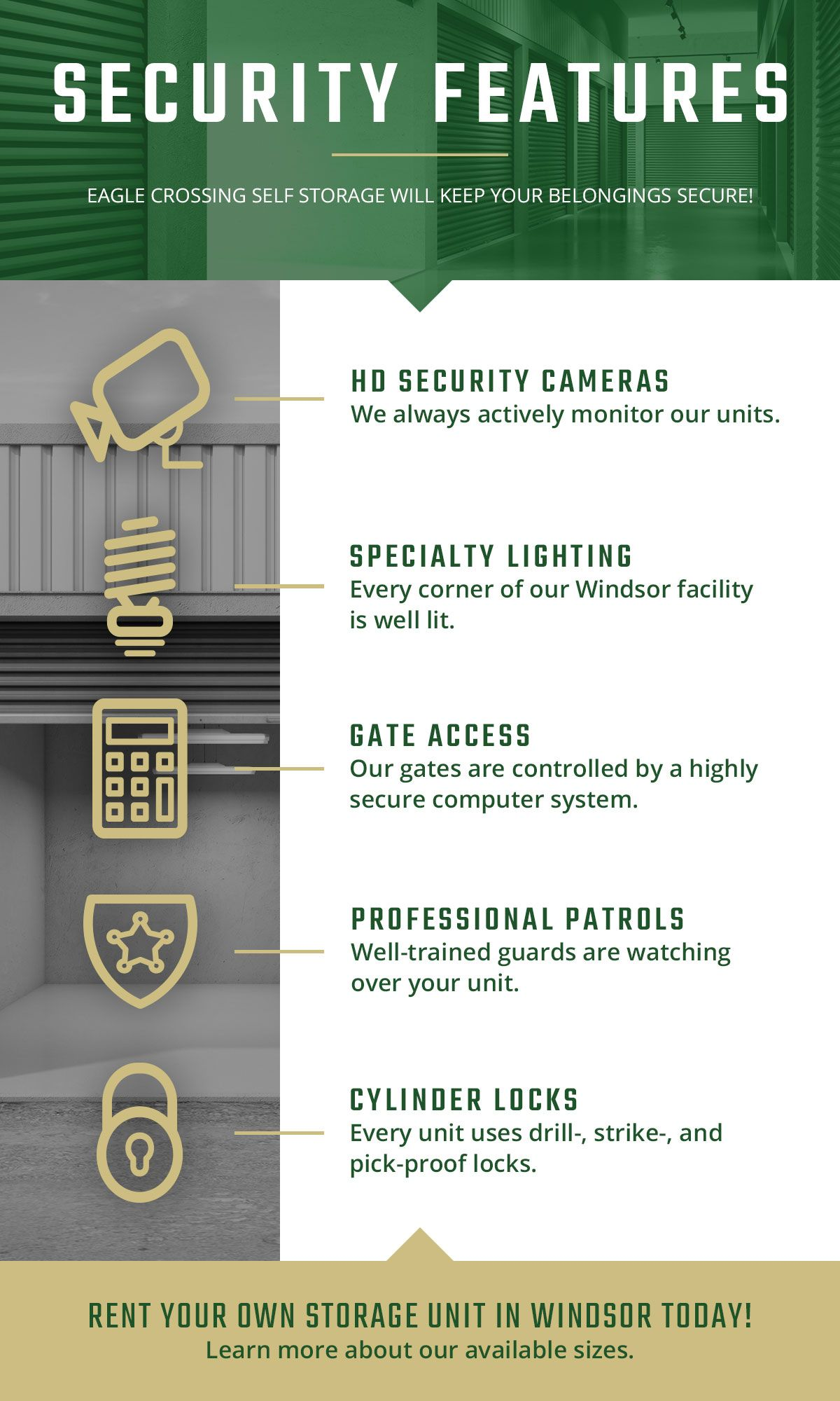 Security Features Infographic