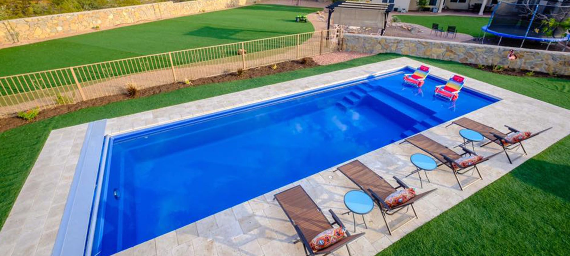 Freedom with Splash Pool Designs