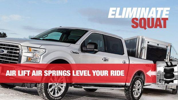 Truck Air Lift Springs Banner