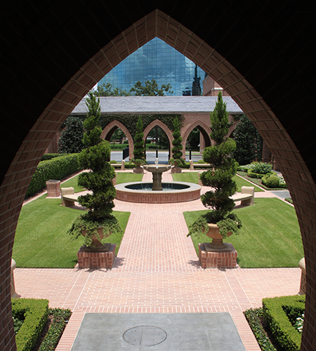 Church Cloister Garden