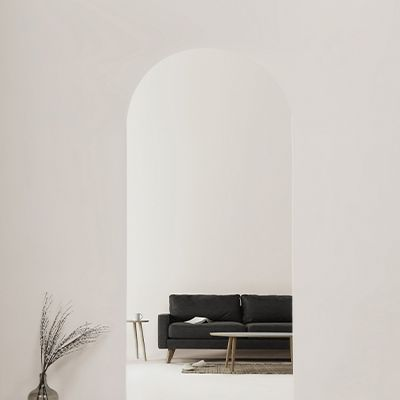 House with Hallway Arch