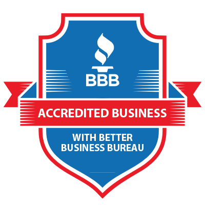 ACCREDITED BUSINESS WITH BETTER BUSINESS BUREAU