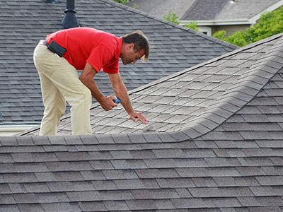 Photo of roof inspection