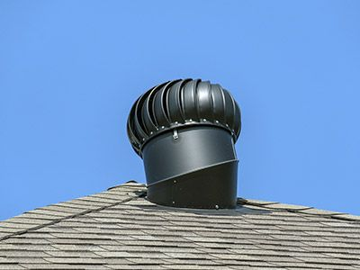 Photo of a roof vent