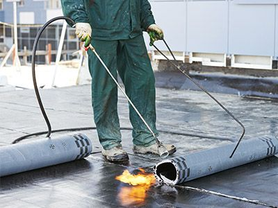 Photo of commercial roofing