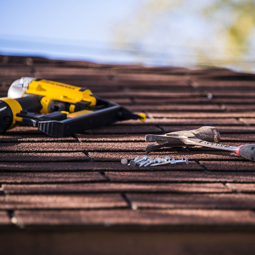 Photo of roofing tools