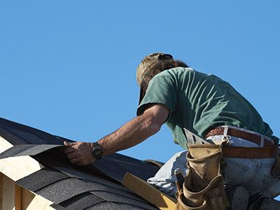Photo of roof installation