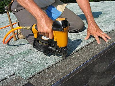 Photo of roof maintenance