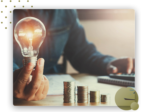 Lightbulb money growth