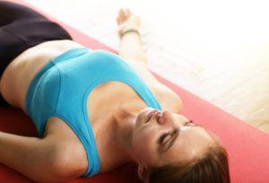 yogi posing