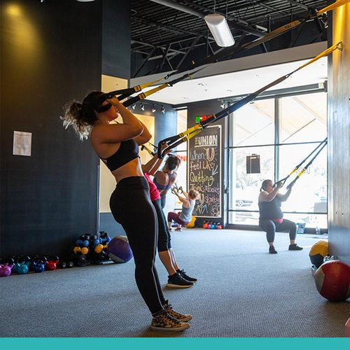 Photo of women working out