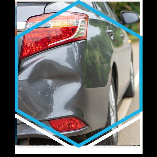 Image of a car dent