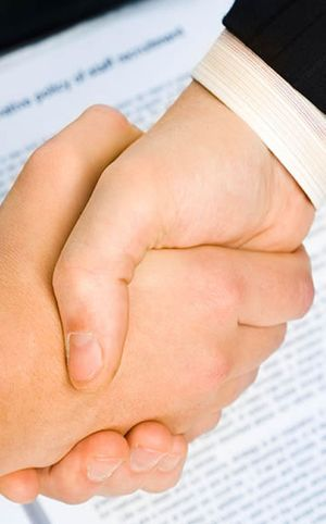 Our Firm Handshake Image