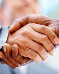 Entertainment Law Handshake Image