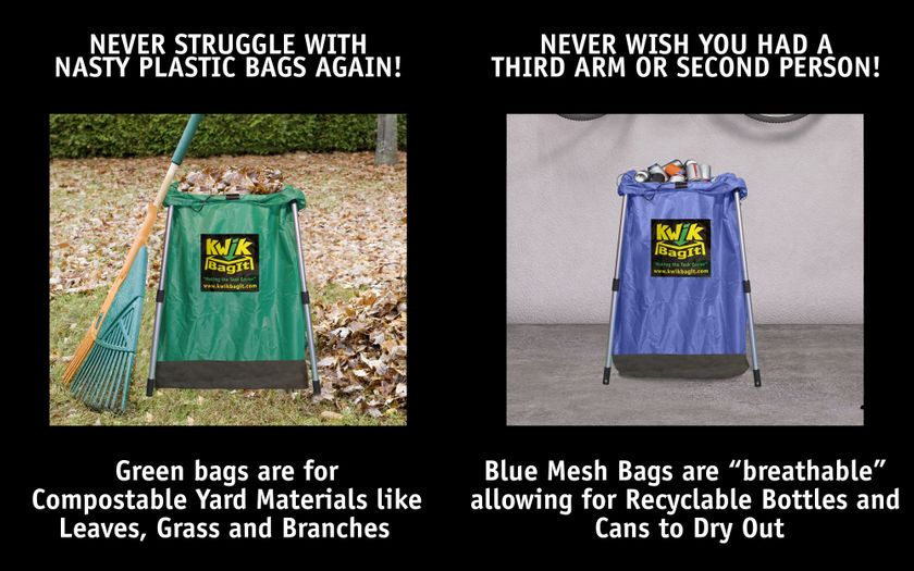 """"""" Compost & Recycle Bags'"""