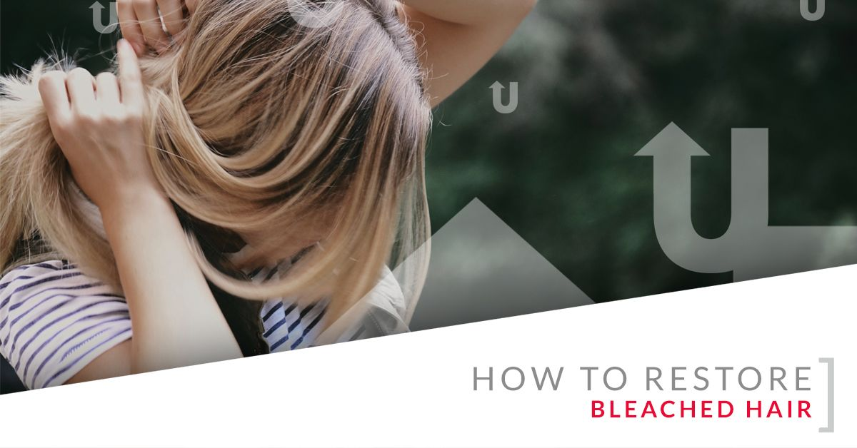 How to Restore Bleached Hair
