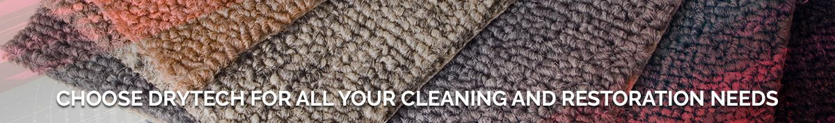 Choose Drytech for Cleaning and Restoration