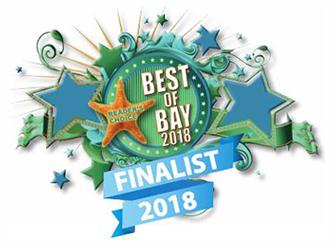 Best of Bay 2018 Badge