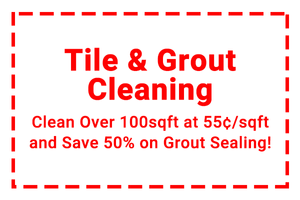 Tile and Grout Cleaning Coupon