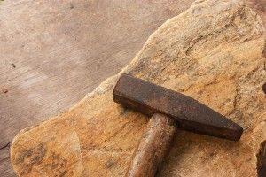 Image of a masonry hammer