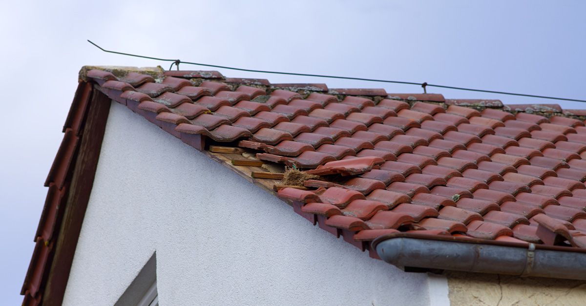 Damaged roofs leave your family at risk