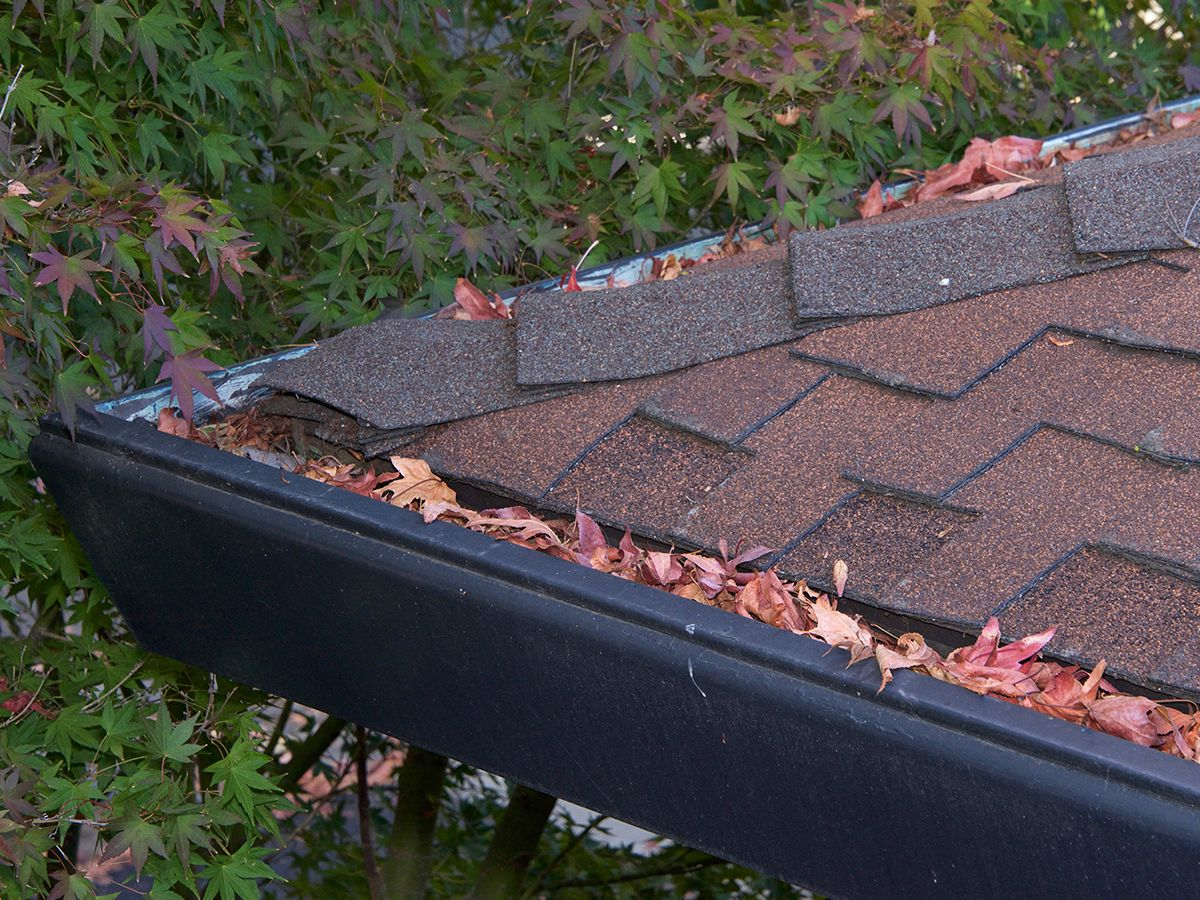 Older roofs are susceptible to damage