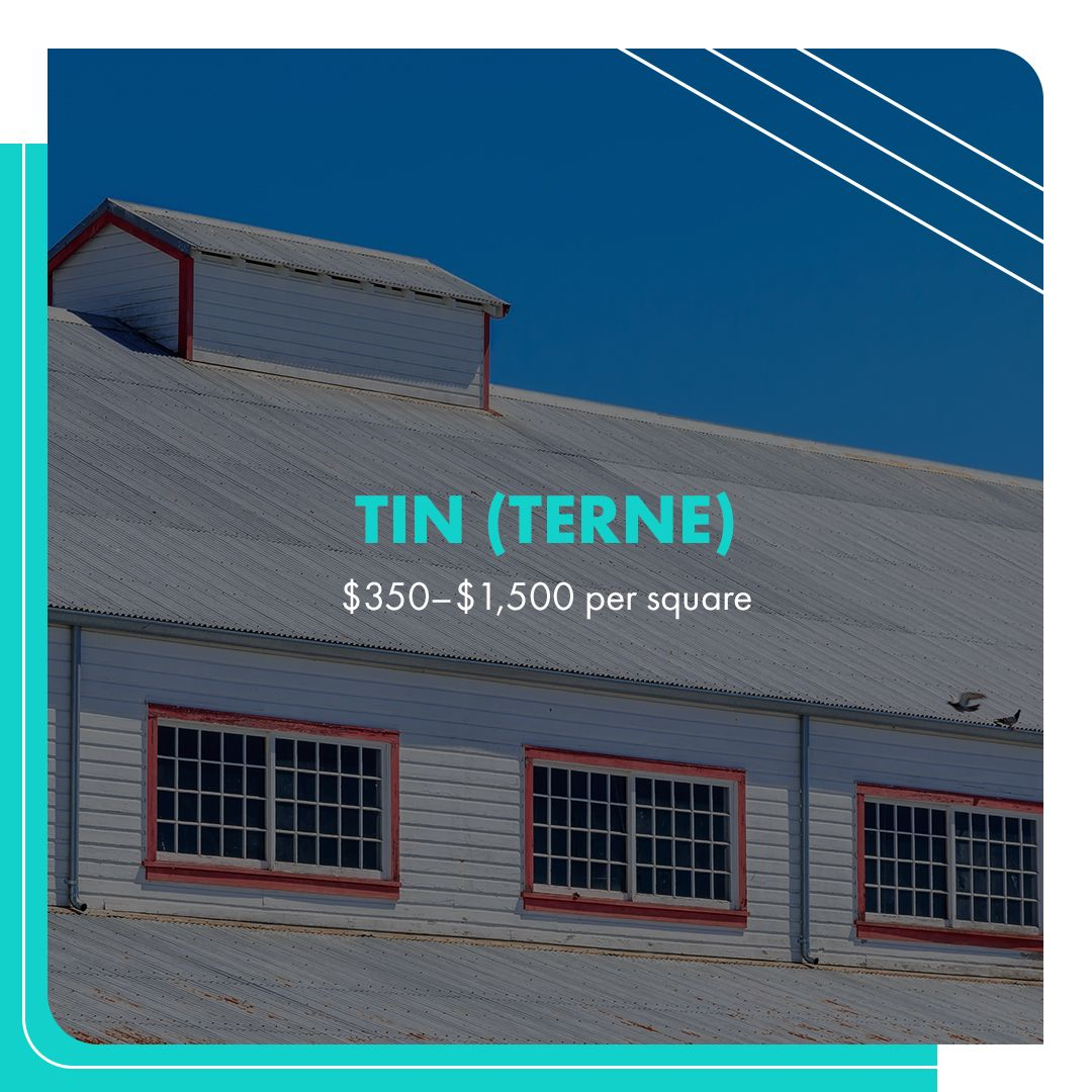 Tin Roofing Pricing