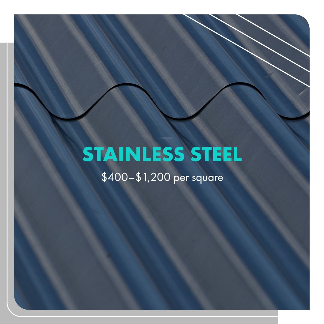 Stainless Steel Roofing Pricing