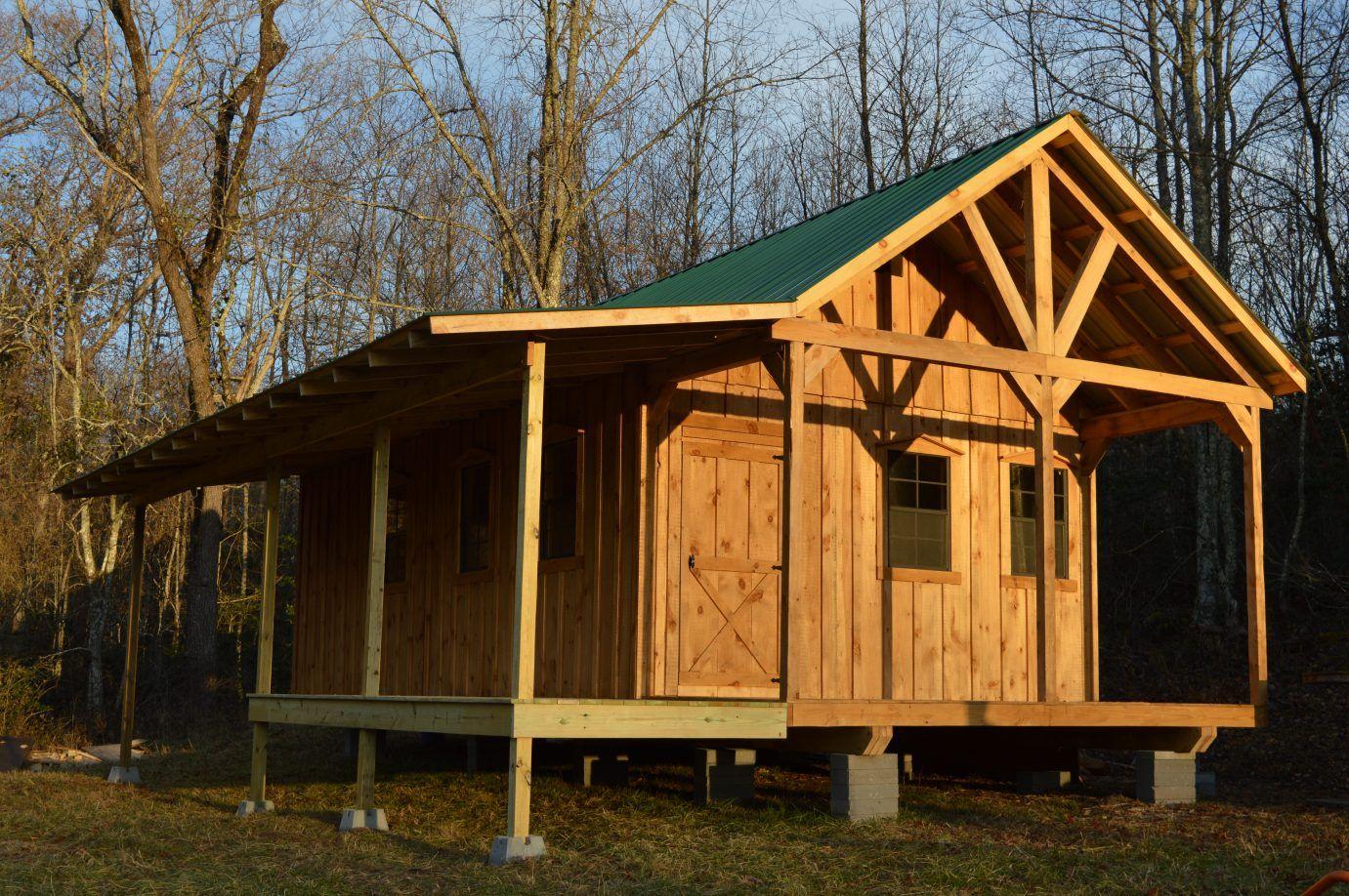 Crosville 12×30 A-Frame Cabin