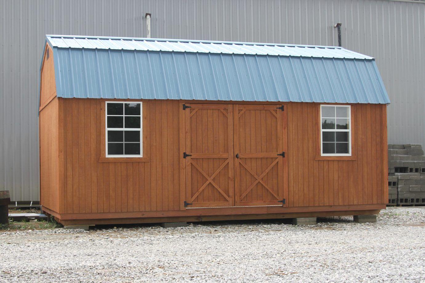 Side Lofted Barn (Treated)