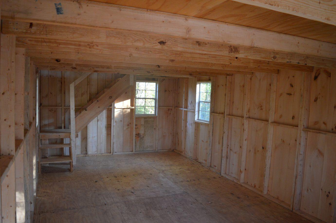 Ashville 14×30 A-Frame Cabin