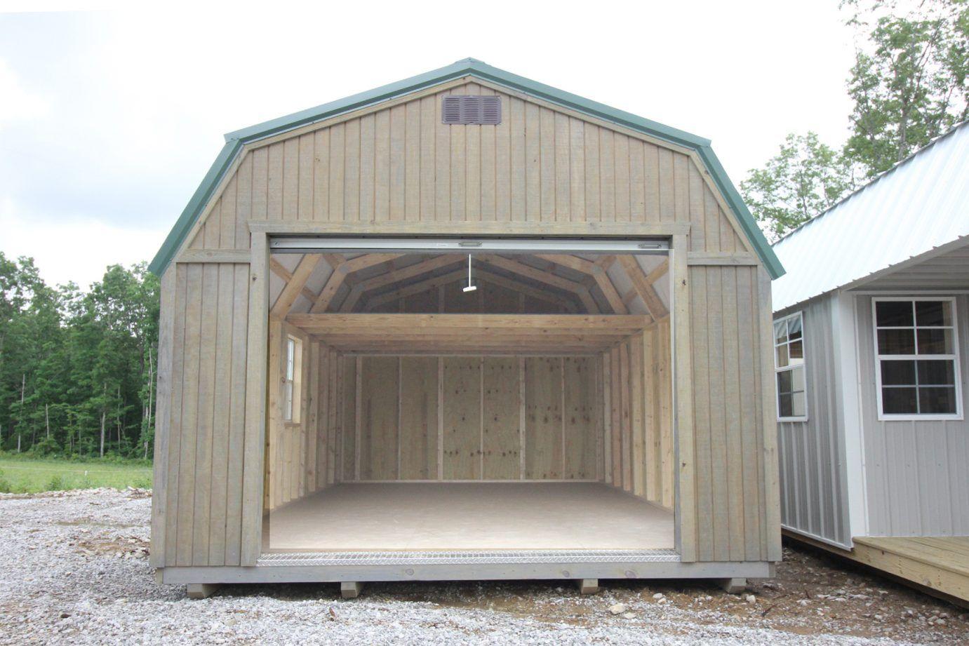 Lofted Garage (Treated)