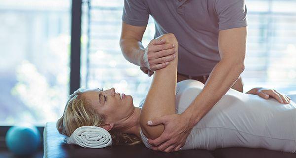 Chiropractic arm exercise