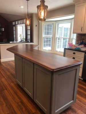Image of finished remodeled kitchen from Remodeling FX