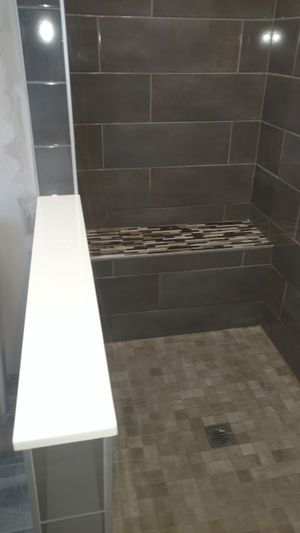 Image of remodeled shower from Remodeling FX