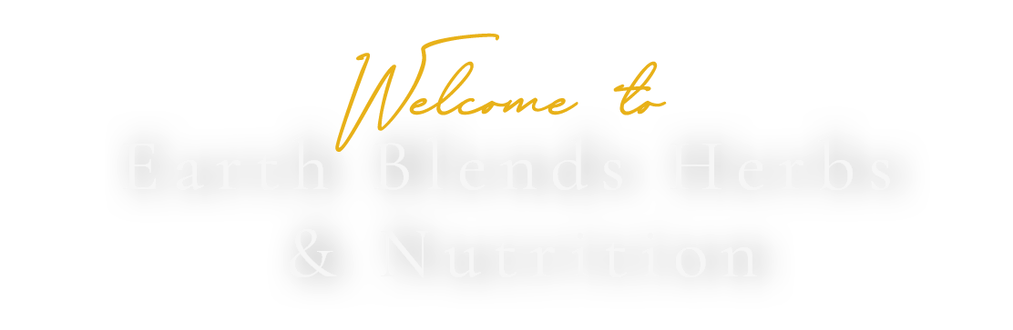 Earth Blend Herbs and Nutrition