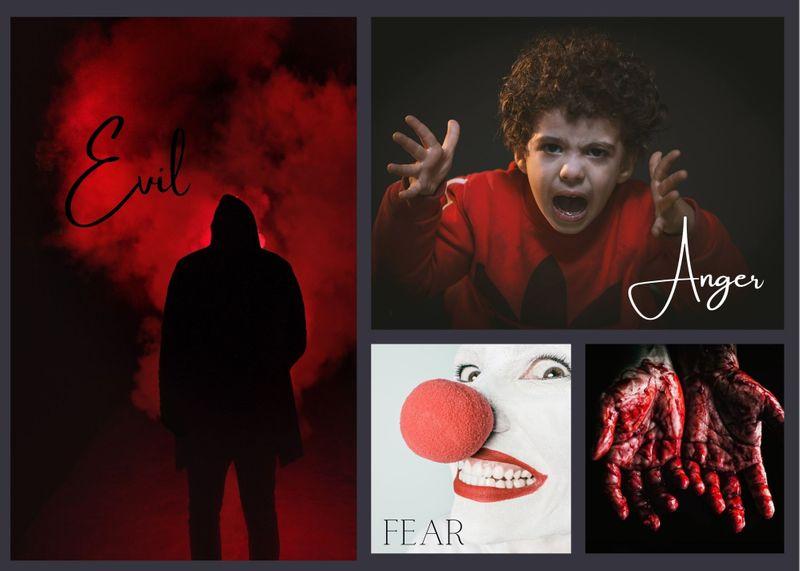 Evil, Anger, Fear