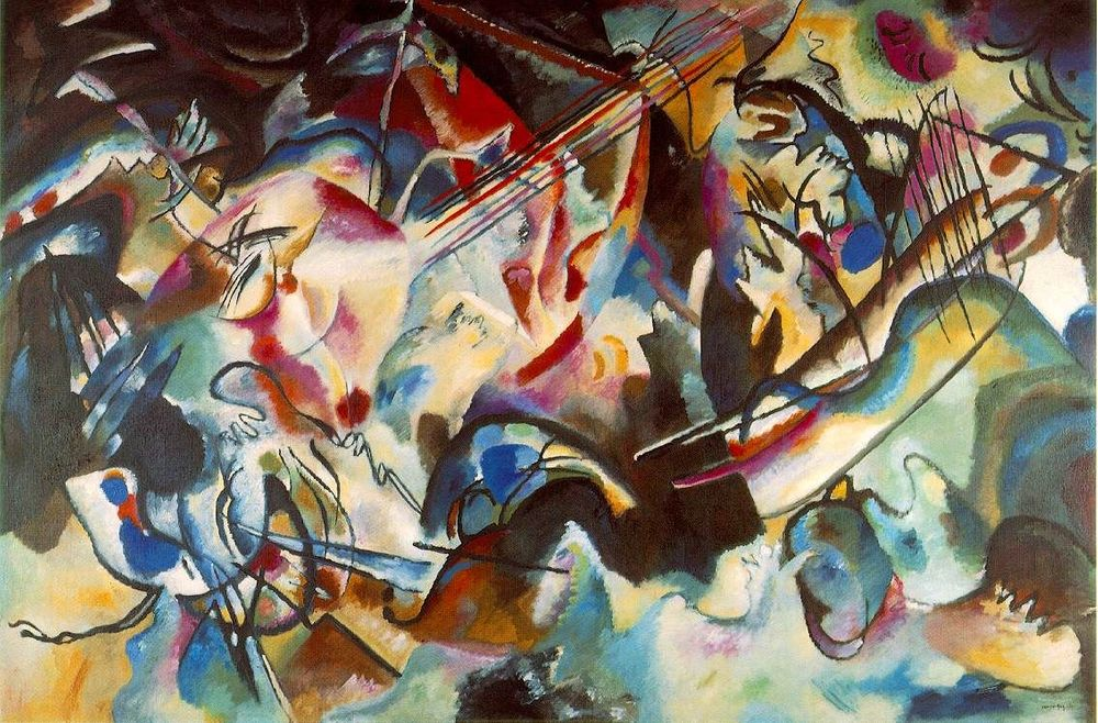 Vassily Kandinsky Composition