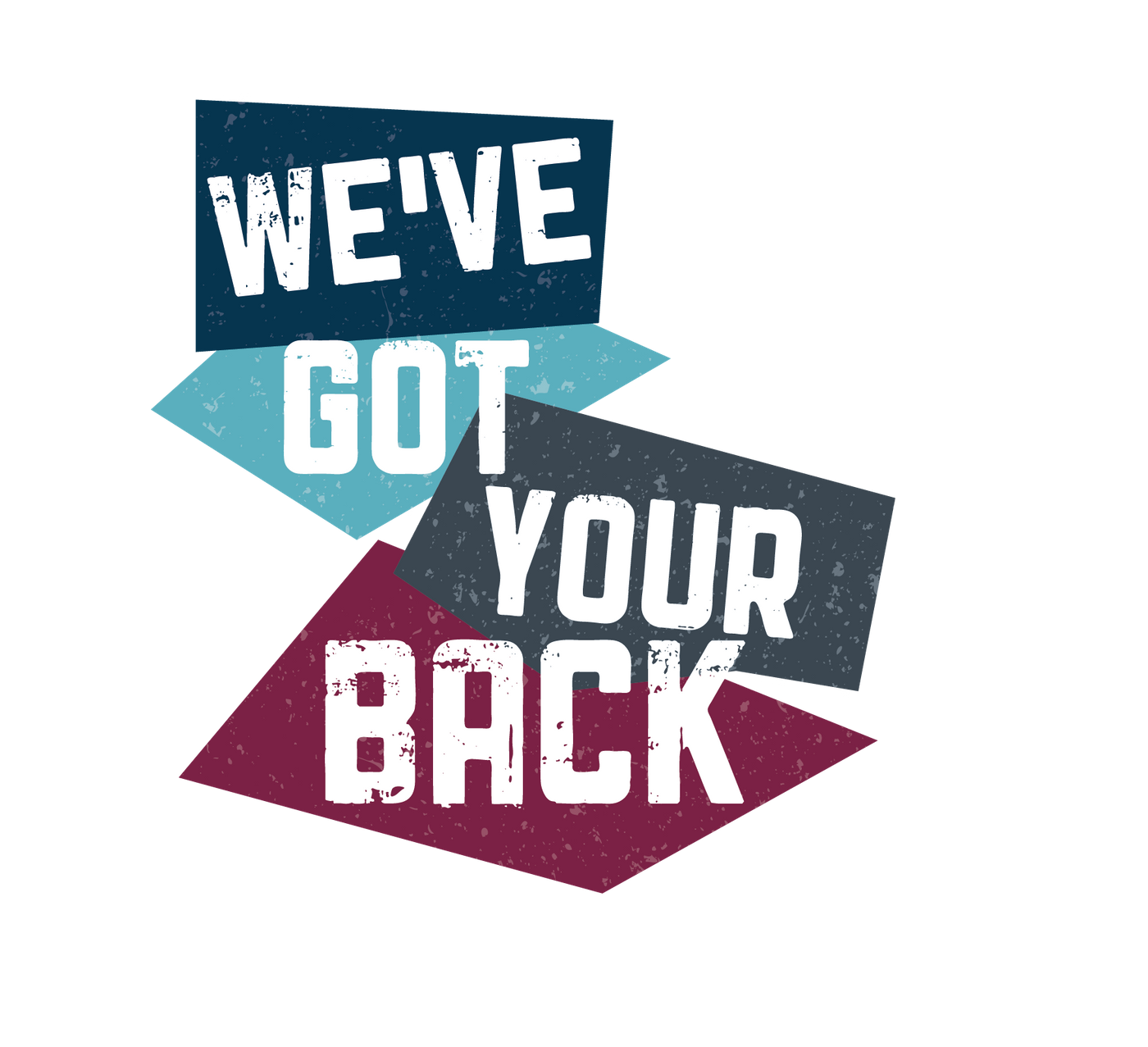 weve got your back graphic
