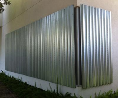 Aluminum Hurricane Panels
