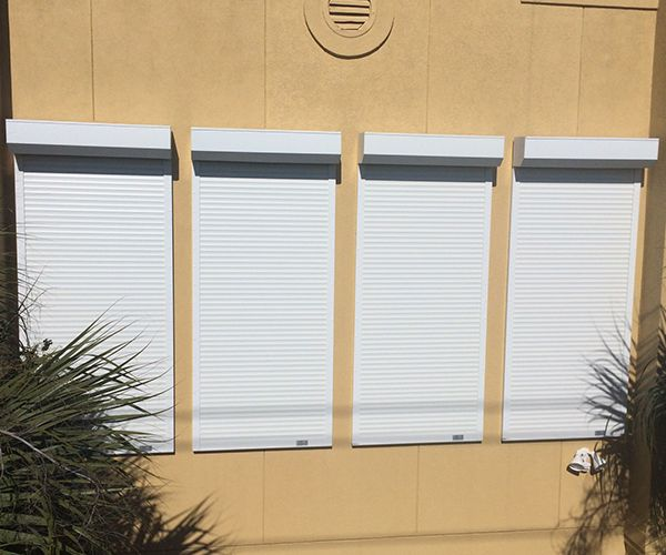 Automatic/Manual Rolling Shutters
