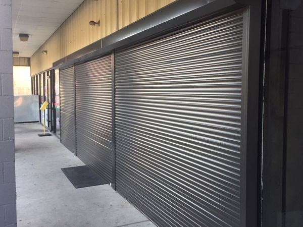 Wall Track Shutters
