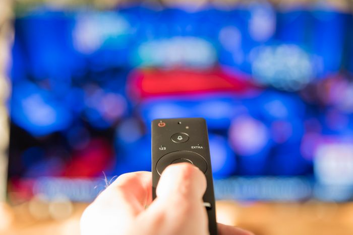 Clicking Remote to tune into American Health Front Medical News Program