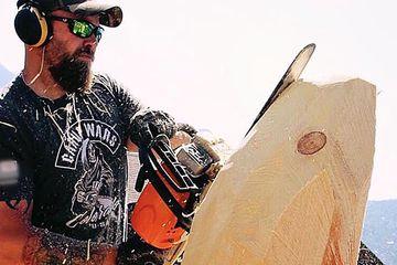 Onsite Wood Carvings