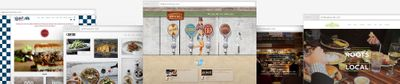 Restaurant Website Customer Examples