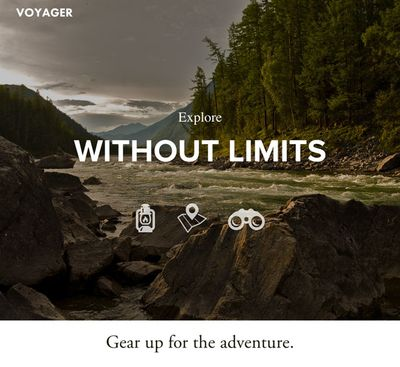 Website Template Voyager