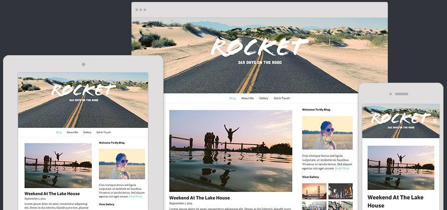 Website Template Rocket Expanded