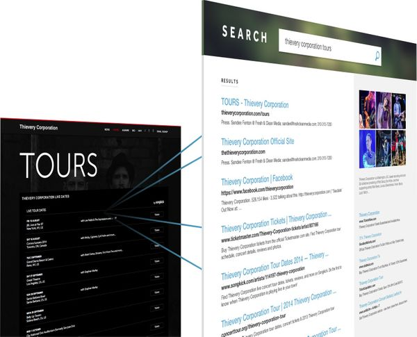 features seo search results