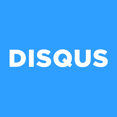 Logo for Disqus, a commenting platform with an integration with Websites 360®